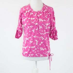 Pink NEW YORK & COMPANY 1/2 sleeve blouse XS